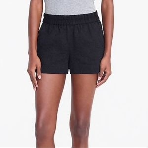 J. Crew Floral Jacquard Boardwalk Pull on Shorts